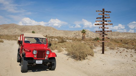 Hit the road and take to the desert en route to the Joshua Tree National Park