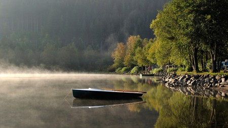 Early morning on Titisee Lake in Germany's Black Forest