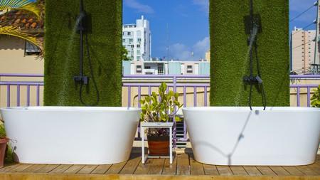Splash around at one of the best hostels in Puerto Rico