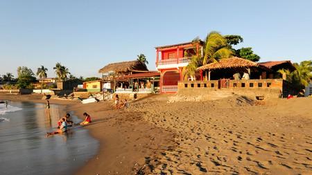 Las Penitas beach near Poneloya, Nicaragua, Central America.