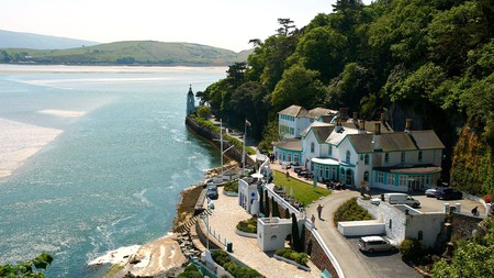 How about a stay in Castell Deudraeth, overlooking Cardigan Bay?