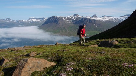 Iceland has some beautiful places to explore on foot, including the area above Seyðisfjörður