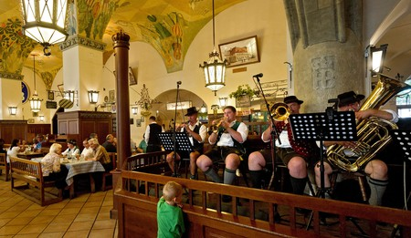 A trip to Munich just isn't complete without a visit to a traditional Bavarian beer hall