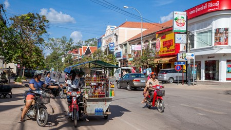 Siem Reap is home to a vast array of budget stays