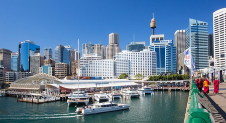 Stay in Darling Harbour for easy access to Sydney CBD