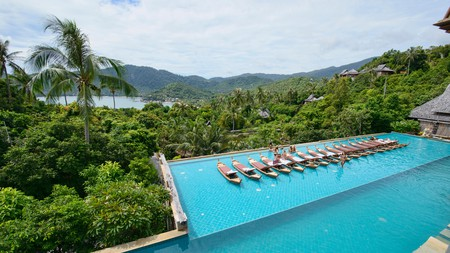 Upgrade your next trip to Ko Phangan with a stay at one of the island's best luxury resorts, like the five-star Santhiya Resort and Spa