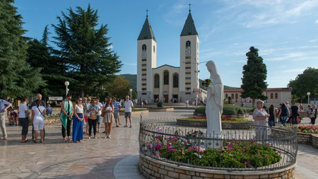 Medjugorje has become a site of pilgrimage for Catholics