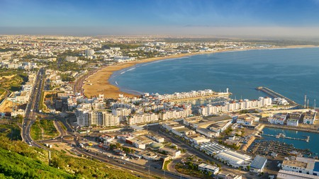 Agadir is one of the top coastal destinations in Morocco