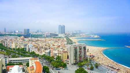 Experience the best of beach and buzzing bars in Barcelona, Spain