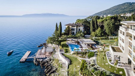 Find your luxuriously languid inner tempo at the Ikador Luxury Boutique Hotel & Spa, overlooking the Adriatic