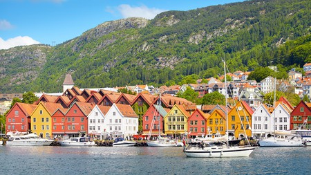Bryggen is a must-see Unesco-listed site in Bergen, Norway