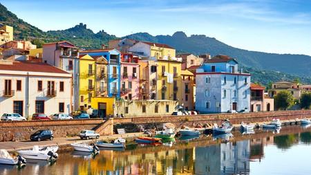 Bosa Old Town sits on the Riviera del Corallo