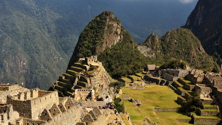 Representations of the condor, puma and snake can be seen at Machu Picchu