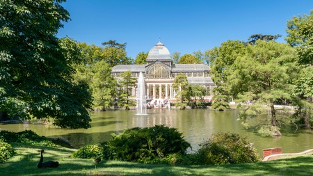 Inspired by London's Crystal Palace, Madrid's Palacio de Cristal is to be found in one of Europe's finest urban green spaces, Retiro Park