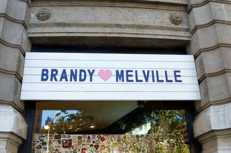 Brandy Melville's relaxed clothing style epitomizes Southern California's laid-back beach vibes