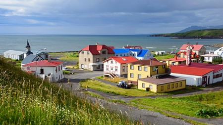 There are many places to explore in Iceland, such as the town of Blönduós