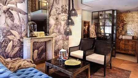 Settle into one of the sumptuously decorated suites at the Claris Hotel and Spa GL