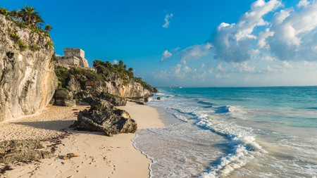There's more to Tulum than beaches, but the beaches aren't too shabby either