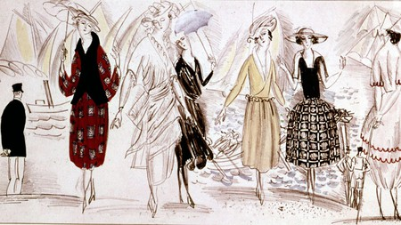 Paul Poiret left behind an incredible legacy of fashion designs