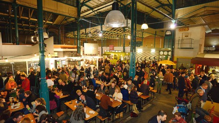 Berlin's street food markets are as diverse at the city's inhabitants