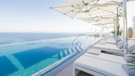 Bask in the year-round sun and enjoy unforgettable views at Hotel Mousai in Puerto Vallarta