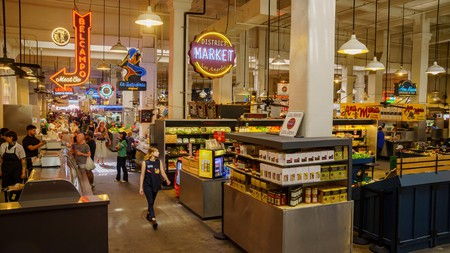 The Grand Central Market in LA is a must for all foodies