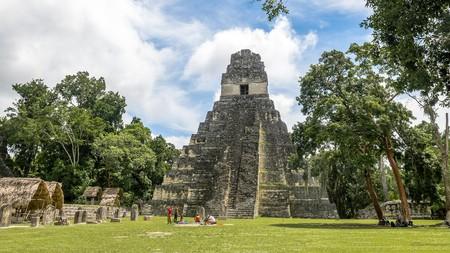 Mayan Temple at Tikal National Park, Guatemala