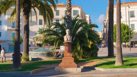You may come upon the statue of Giuseppe Mazzini as you get lost exploring the streets of Sassari