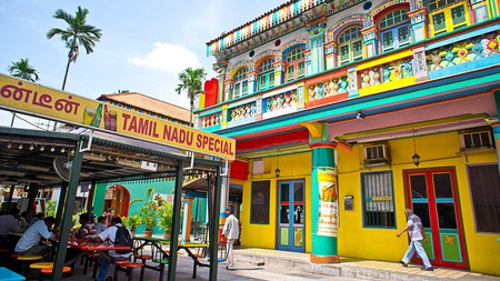 Little India is the centre of Singapore's large Indian community and one of its most vibrant districts