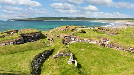 When it comes to wild swimming, Orkney has amazing options, including the Bay of Skaill