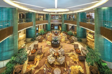 The Kempinski Hotel is one of many stylish hotels in Chengdu