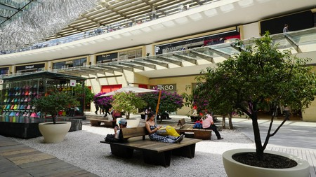 Antara Polanco is an upscale shopping mall in Mexico City