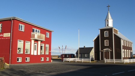Get a true taste of the Icelandic outdoors at the cosy and modern Lambastadir Guesthouse
