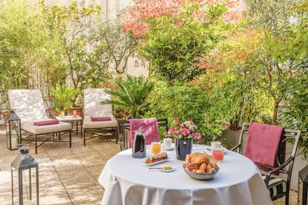 The hotels in Saint-Germain-des-Prés are brimming with charm and history