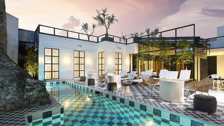 The sleek, contemporary L'Ôtel in the heart of downtown San Miguel