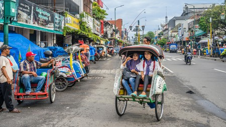 Budget backpackers will find great places to stay in Yogyakarta's Jalan Malioboro district