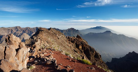 The Cumbre Vieja, along the ridge of a dormant volcano, is just one of many great hikes to be found in Spain