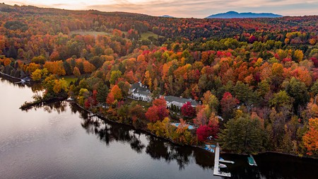 Combine old-world charm with modern luxury on the shores of Lake Massawippi
