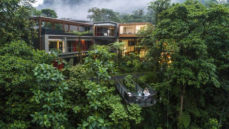 Mashpi Lodge is set in its own 2,500-acre private reserve of rainforest, cloud forest and is packed with incredible natural wonders.