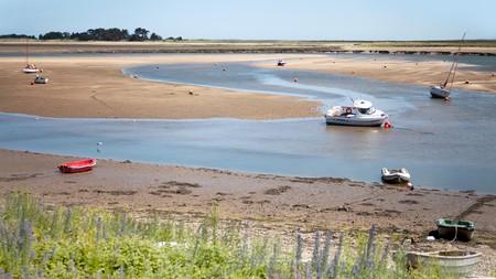 East Fleet estuary at low tide, Wells-next-the-Sea