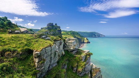 Enjoy splendid views from the Valley of the Rocks, North Devon, while walking the South West Coast Path