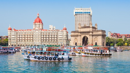 Stay in one of Mumbai's boutique hotels for a top view of the harbour
