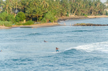 Sri Lanka is world-famous for its surfing