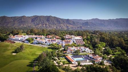 Ojai Rancho Inn is a great spot to stay in near the Matilija hot springs