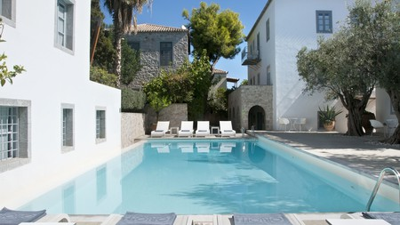 For an authentic Greek island experience, book into Orloff Resort, just one of many luxurious hotels in Spetses