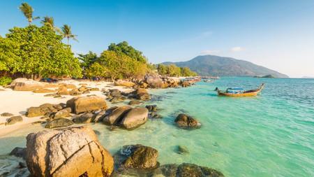 Sunrise Beach on idyllic Koh Lipe