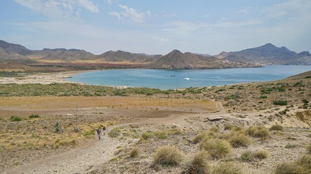 The Cabo de Gata-Níjar Natural Park is a protected coastal area in Almería