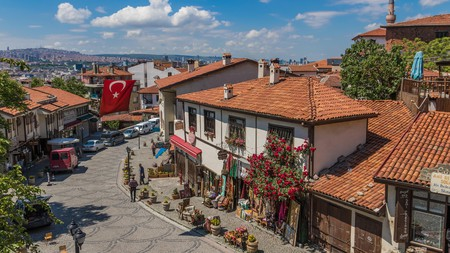 Explore Ankara's charming Old Town before checking into a boutique hotel