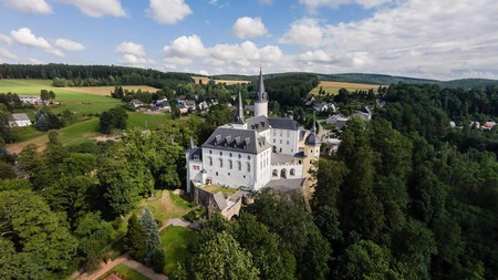 Set amid the rich landscapes of Saxony, Hotel Purschenstein has an equally rich history