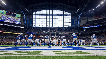 The Indianapolis Colts play their home games at the Lucas Oil Stadium